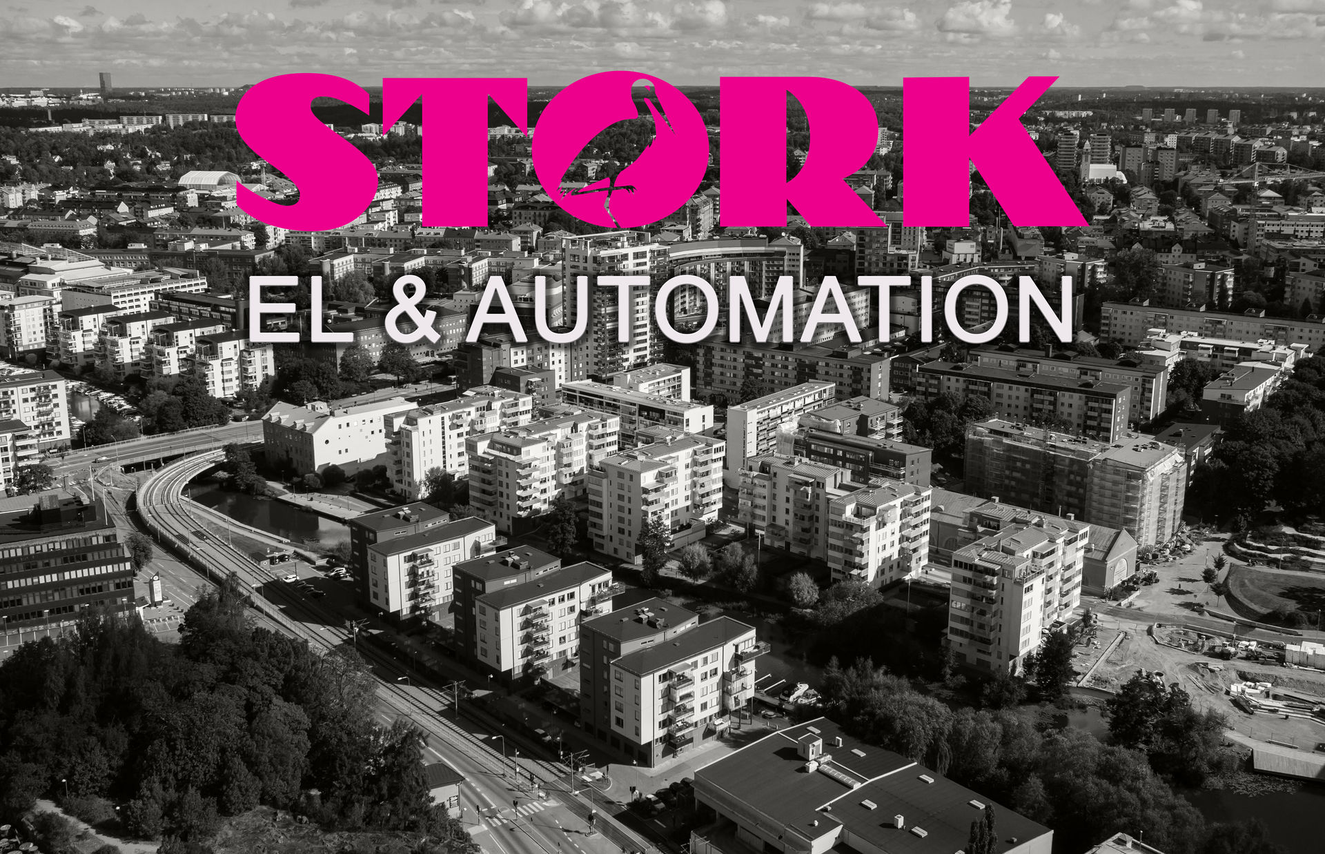 Stork El & Automation El LED Downlights Stripes Tryck Fukt Temperatur Flöde Nivå Styrning Positionering